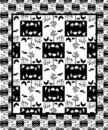Free Birds Wildlife Seamless Pattern Royalty Free Stock Photos - 6404348