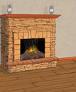 Free Fireplace Stock Images - 6406084