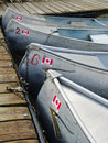 Free Canoes Royalty Free Stock Image - 6408146