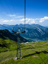 Free Mountain Cable Transport Switzerland Stock Image - 6408181