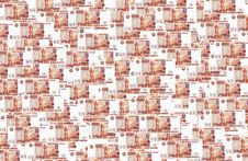 Free Background Of Russian Roubles Royalty Free Stock Photography - 6400387