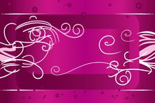 Free Beautiful Swirl Background Royalty Free Stock Photography - 6402047