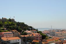 Free View Of Lisbon Royalty Free Stock Images - 6402229