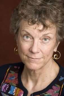 Portrait Of A Senior Woman Stock Photos