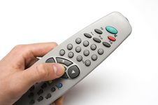 Free Remote In Hand Royalty Free Stock Image - 6402336