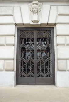 Free Protected Door Stock Image - 6402521