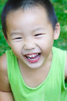 Free Baby Laughing Royalty Free Stock Photo - 6402615
