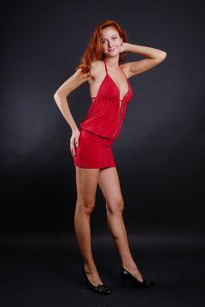 Free Beautiful Redheaded Girl Stock Photography - 6403072