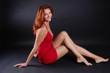 Free Beautiful Redheaded Girl Royalty Free Stock Photos - 6403218