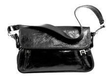 Black Fashionable Handbag Royalty Free Stock Photography