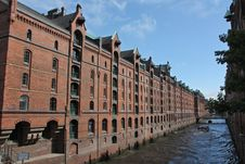 Speicherstadt Royalty Free Stock Photo