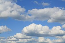 Abstract Sky And Clouds Royalty Free Stock Photography