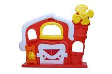 Toy Farm House Royalty Free Stock Photos