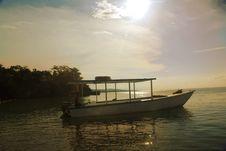 Free Sunset Boat Royalty Free Stock Photo - 6404365