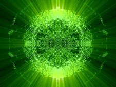Free Alight Mirrored Unknown Fantasy Abstract Royalty Free Stock Photos - 6404418