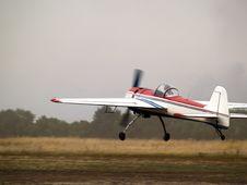 Free Aerobatic Plane Landing Stock Photography - 6405482