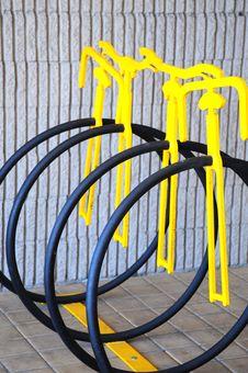 Bike Rack. Stock Images