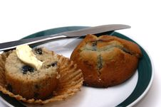 Free Blueberry Muffin Royalty Free Stock Photography - 6406427
