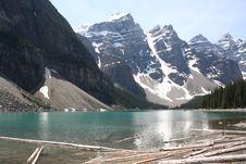 Free Moraine Lake Canada Royalty Free Stock Photography - 6406827