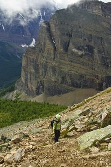 Free Hiking In The Rockies Royalty Free Stock Images - 6407619