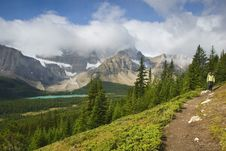 Free Hiking In The Rockies Royalty Free Stock Image - 6407676