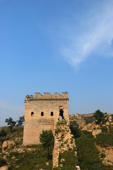 Free The Great Wall Royalty Free Stock Photo - 6407685