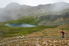 Free Hiking In The Rockies Royalty Free Stock Photos - 6407698