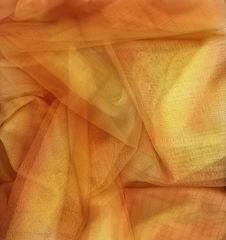 Free Orange Netting Fabric Stock Photography - 6407722