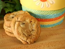 Free Chocolate Chip Cookies Stock Image - 6407871