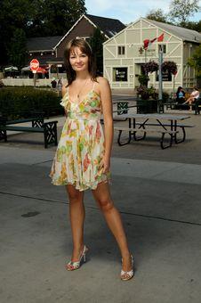 Free American Beautiful Lady Stock Photography - 6408082