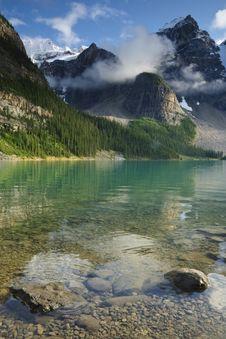 Free Moraine Lake Stock Image - 6408161