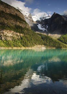 Free Moraine Lake Royalty Free Stock Image - 6408206