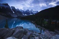 Free Moraine Lake Stock Image - 6408231