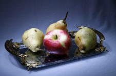 Free Apple And Pears Stock Image - 6408251
