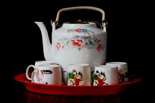 Free Tea Set Stock Image - 6408521
