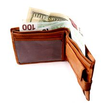 Free Wallet With Money Stock Images - 6408534