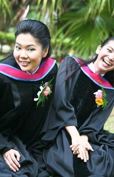University Graduates Stock Image