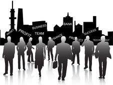 Free Business People Royalty Free Stock Images - 6409069