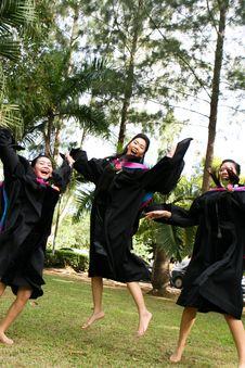 Free University Graduates Royalty Free Stock Photo - 6409115