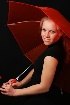Free Red Umbrella 3 Stock Photo - 6409190