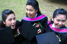 Free University Graduates Royalty Free Stock Photos - 6409518