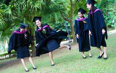 Free University Graduates Stock Image - 6409551