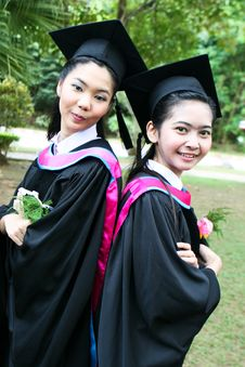 Free University Graduates Stock Image - 6409611