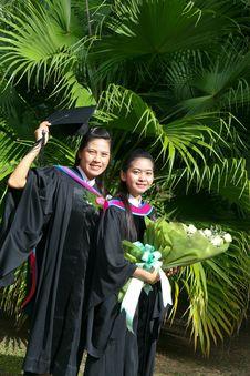 Free University Graduates Stock Image - 6409731