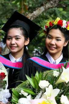 Free University Graduates Royalty Free Stock Photography - 6409847