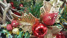Free Christmas Decoration Royalty Free Stock Photos - 64000368