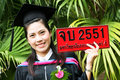 Free Asian Graduate Royalty Free Stock Photography - 6412317