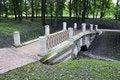 Free Bridge In Park Stock Images - 6413484