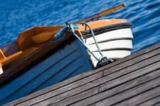Rowing Boat 2 Royalty Free Stock Photos