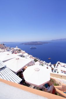 Free Santorini Vulcano Stock Photography - 6410252